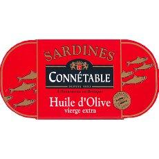 Sardines a l'huile d'olive CONNETABLE, 55g