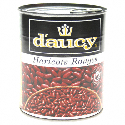 Haricots rouges D'AUCY, 500g