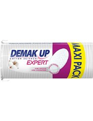 Demak'up Expert Set de 68 Cotons à Démaquiller Ovale Maxi - Lot de 4