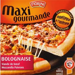Pizza Maxi gourmande bolognaise, la pizza de 600g