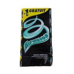 Chewing gum Airwaves Black menthol s/sucre 5