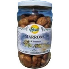 Marrons bio au naturel VERFEUILLE, 430g