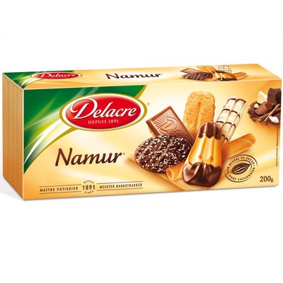Namur, assortiment de biscuits patissiers, la boite, 200g