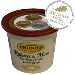 Rillettes du Mans Prunier Fermier label rouge pot 220g
