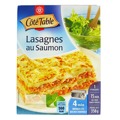 Lasagnes saumon Cote Table 350g