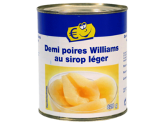Poire William au sirop leger