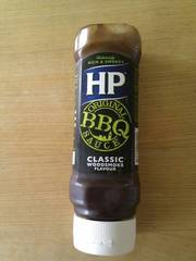 Hp Sauce Sauce Barbecue le flacon de 465 g