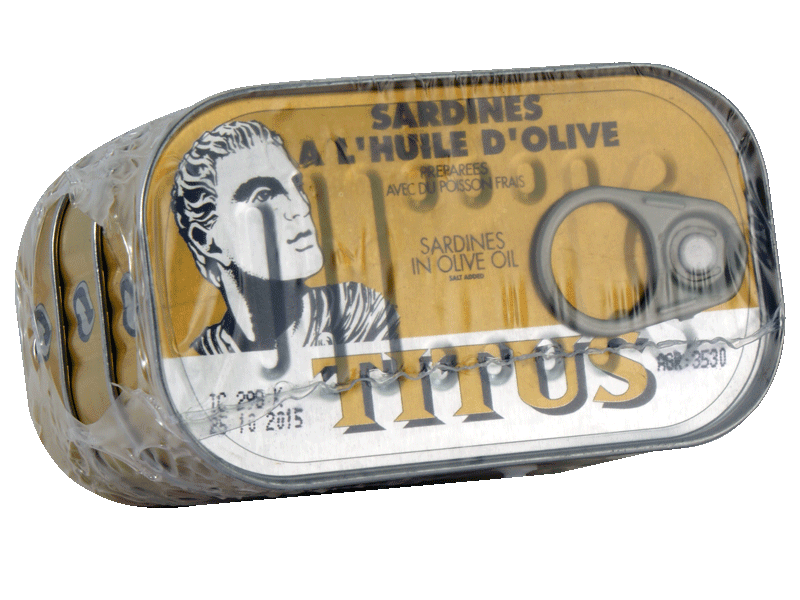 Sardines huile d'olive 3x125g