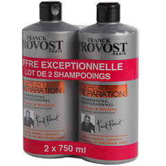 Franck Provost shampooing expert reparation 2x750ml