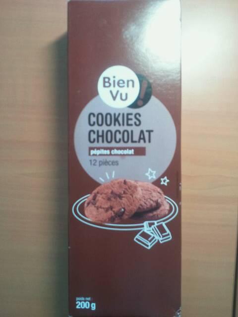 Cookies tout chocolat bien vu 200g tous les produits biscuits g teaux prixing - Carbonate de sodium danger ...
