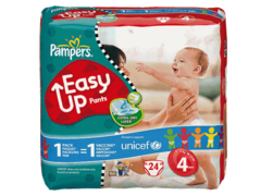 Pampers easy up paquet maxi change x24 taille 4