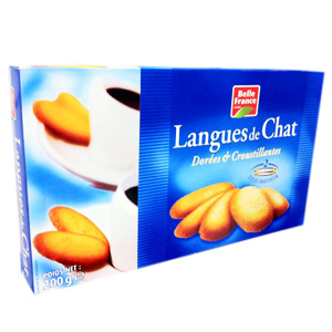 Belle France Langues de Chat 12 Paquet 200 g -