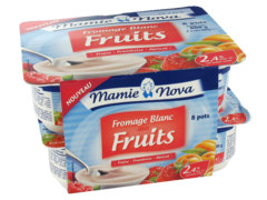 Mamie Nova fromage blanc aux fruits 8x100g