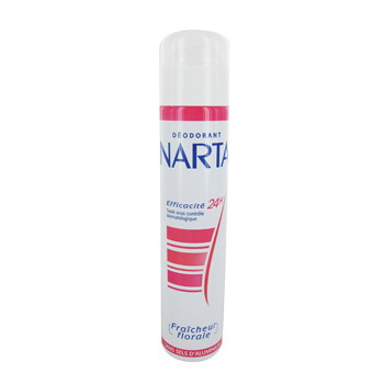 deodorant narta fraicheur florale spray 200ml tous les produits d odorants femme prixing. Black Bedroom Furniture Sets. Home Design Ideas