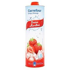 Sirop fraise Carrefour