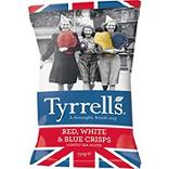 Chips pdt à chair red white & blue salées TYRRELLS 150g