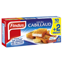 filet de cabillaud panes x10 findus 550g