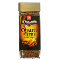 Cafe soluble Plantation Qualite filtre 200g