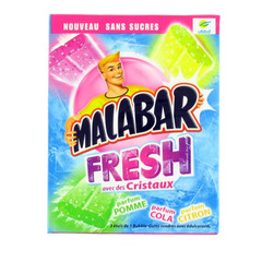 Assortiment de MALABAR pocket sans sucre Fresh, 66g