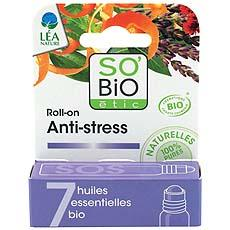 Roll-on anti-stress aux huiles essentielles bio SO BIO Etic, 5ml