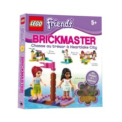 Lego Brickmaster- Friends- Chasse au tresor a Heartlake City