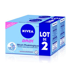 Nivea baby serum physiologique etui doses 2x24x5ml