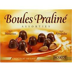 Boules praline assorties