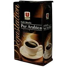Cafe pur arabica moulu Degustation U 1 x 250g