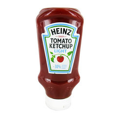 Heinz Tomato ketchup light le flacon de 500 ml