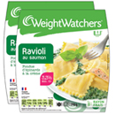 Weight Watchers ravioli saumon épinard x2 -580g