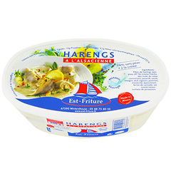 Filets Harengs Est Friture Sans peau a l'Alsacienne 400g