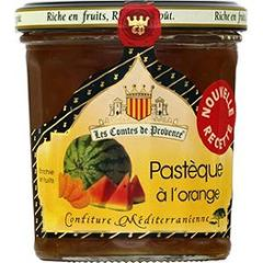 Confiture mediterraneenne pasteque a l'orange 340g