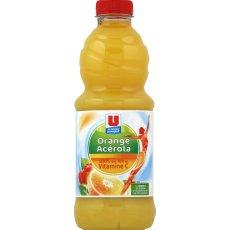 Jus d'orange et cerise acerola Form' U, 1l