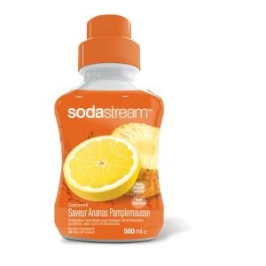 Sodastream - Concentré Ananas pamplemousse 500ml - 30025940