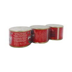 double concentre de tomate giaguar 3x70g