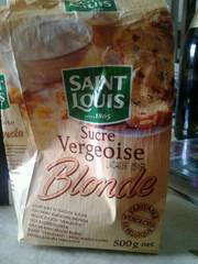 Vergeoise blonde ST LOUIS, 500g