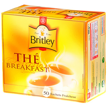 The breakfast Britley 50 sachets 100g