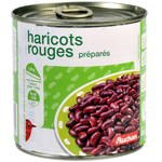 Auchan haricots rouges 250g