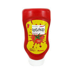 Auchan ketchup epice flacon top down 560g