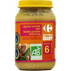 petit pot bebe bio legumes cuisines porc des 6 mois tous les produits assiettes petits. Black Bedroom Furniture Sets. Home Design Ideas