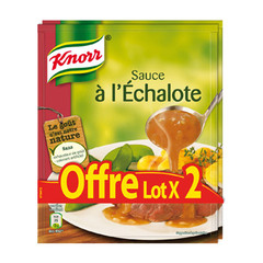 Knorr sauce deshydratee a l'echalote 2x33g