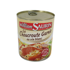 Choucroute Recette Gourmande William Saurin 800g