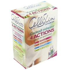 CelliSlim - Cocktail minceur 4 actions