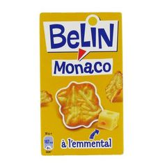 Belin crackers monaco a l'emmental 55g