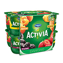Activia bifidus assortiment de yaourts aux fruits 12x125g