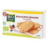 Biscuits Bio Village Fruits rouges200g