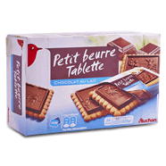 Biscuits avec tablette de Chocolat au lait - 24 biscuits