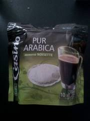 Cafe pur Arabica aromatise Noisette