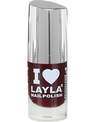 Layla Cosmetics Milano I Love Layla Vernis à Ongles Red Noir 5 ml