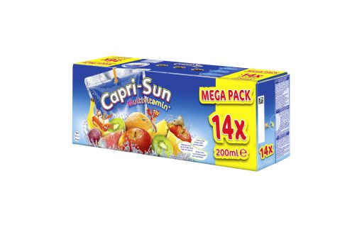Boisson aux fruits plate multivitamines Capri-Sun
